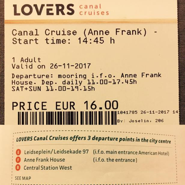 Canal cruise 1