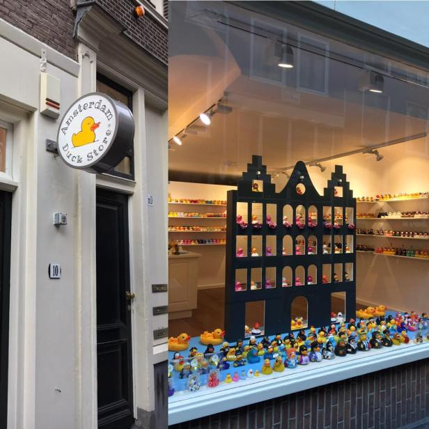 Amsterdam Duck store boutique